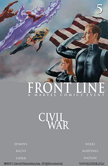 Civil War: Front Line #5 (of 11)