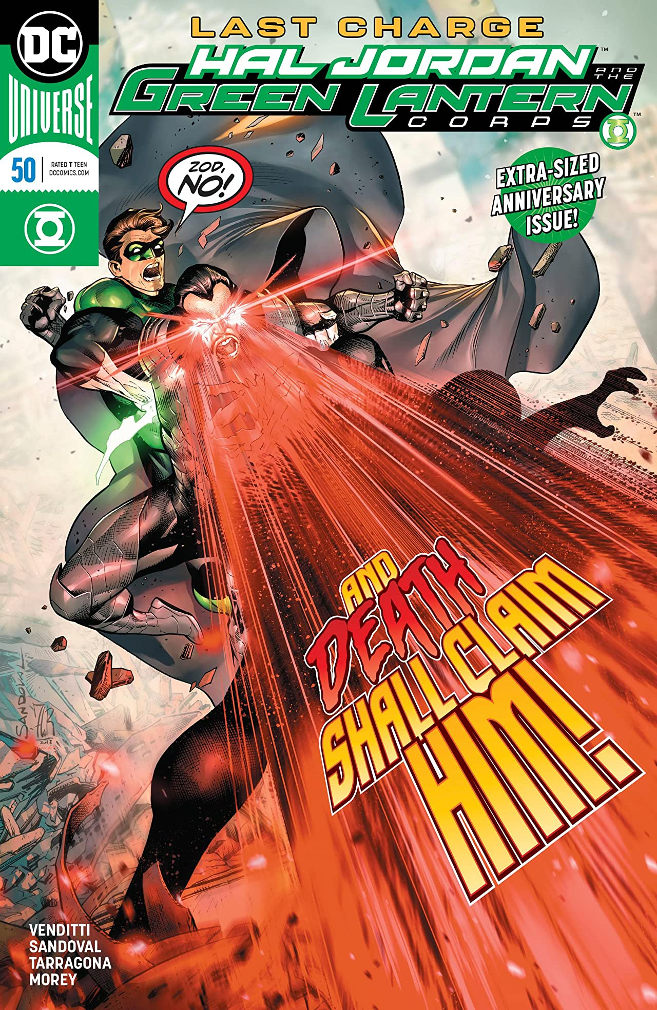 Hal Jordan and The Green Lantern Corps (2016-) No.50