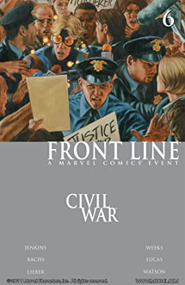 Civil War: Front Line #6 (of 11)