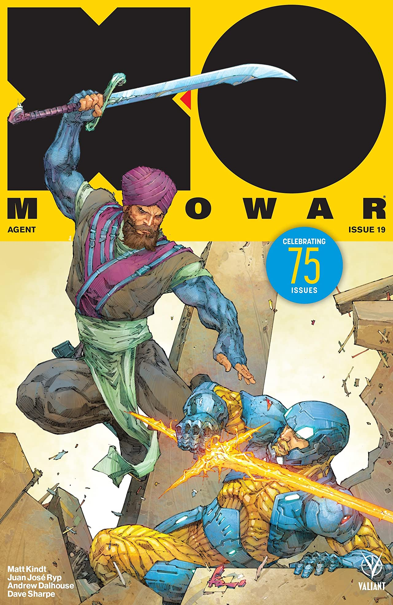X-O Manowar (2017) No.19