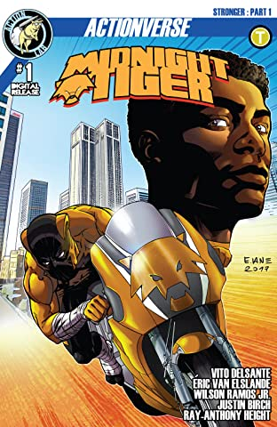 Midnight Tiger: Stronger #1