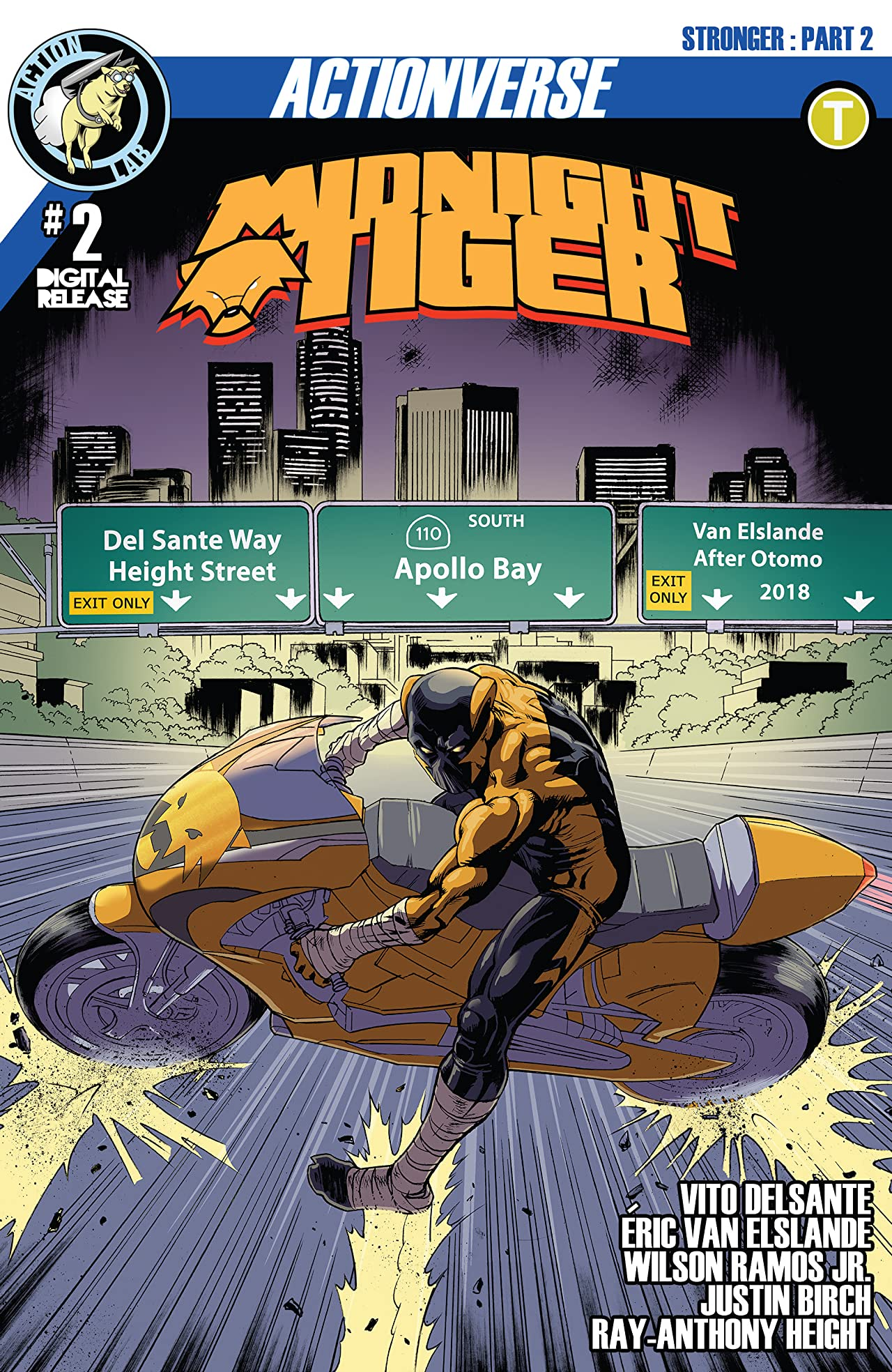 Midnight Tiger: Stronger #2