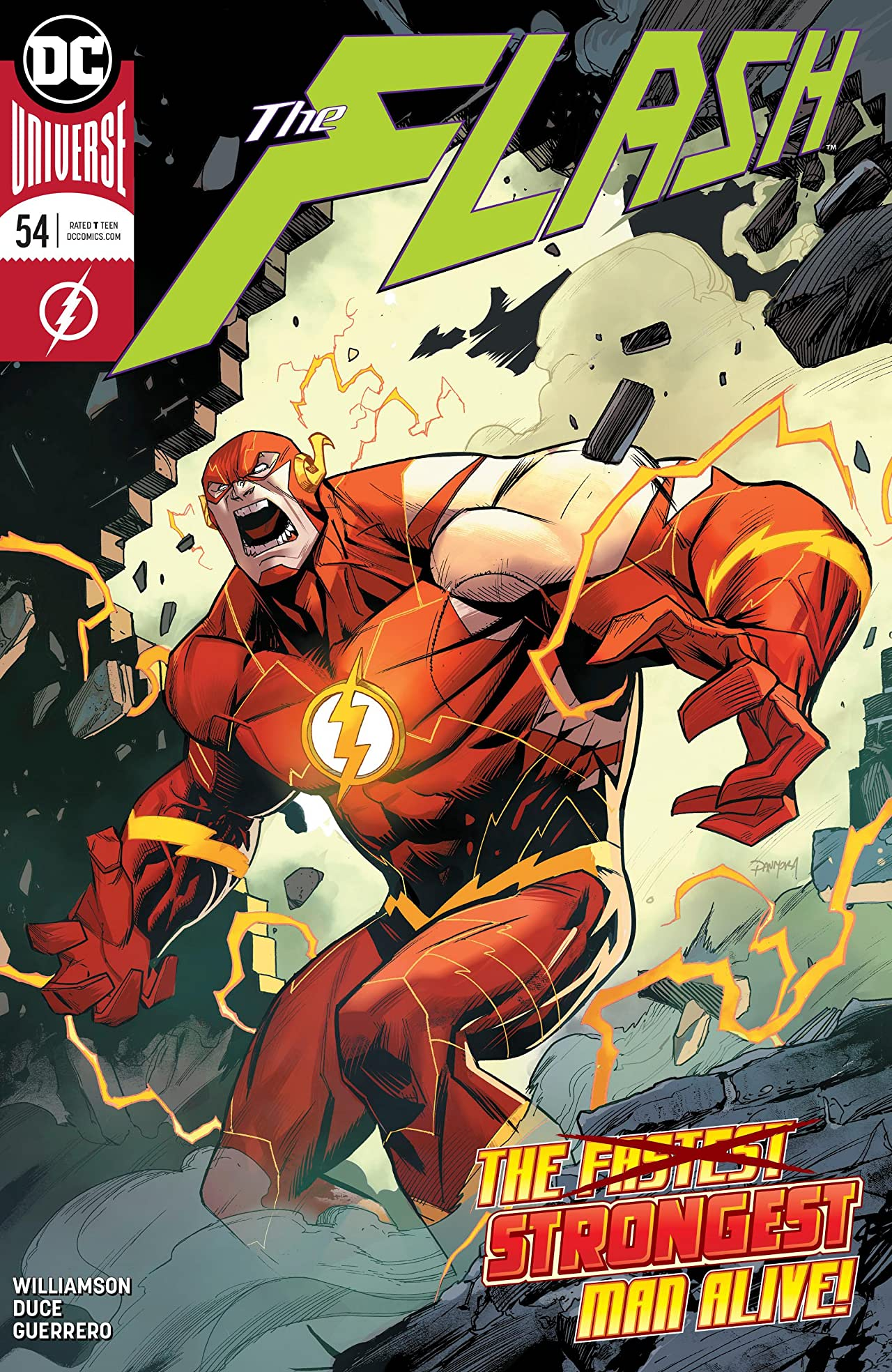 The Flash (2016-) No.54