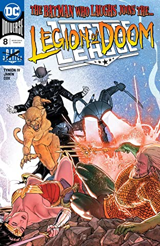 Justice League (2018-) No.8