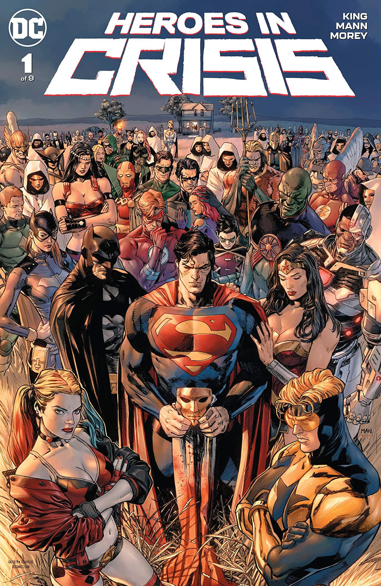 Heroes in Crisis (2018-) No.1