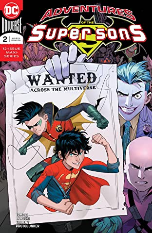 Adventures of the Super Sons (2018-2019) No.2