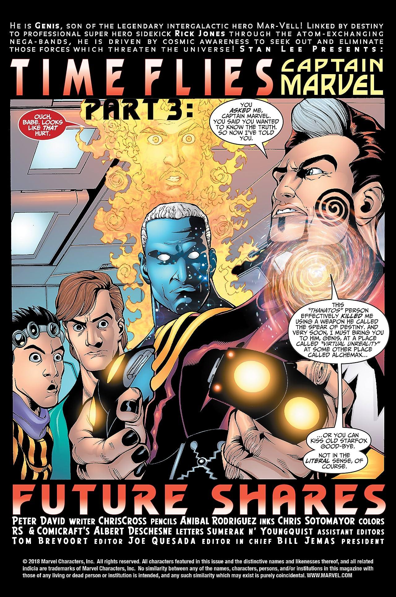 Captain Marvel (2000-2002) #29