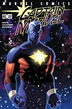Captain Marvel (2000-2002) No.32