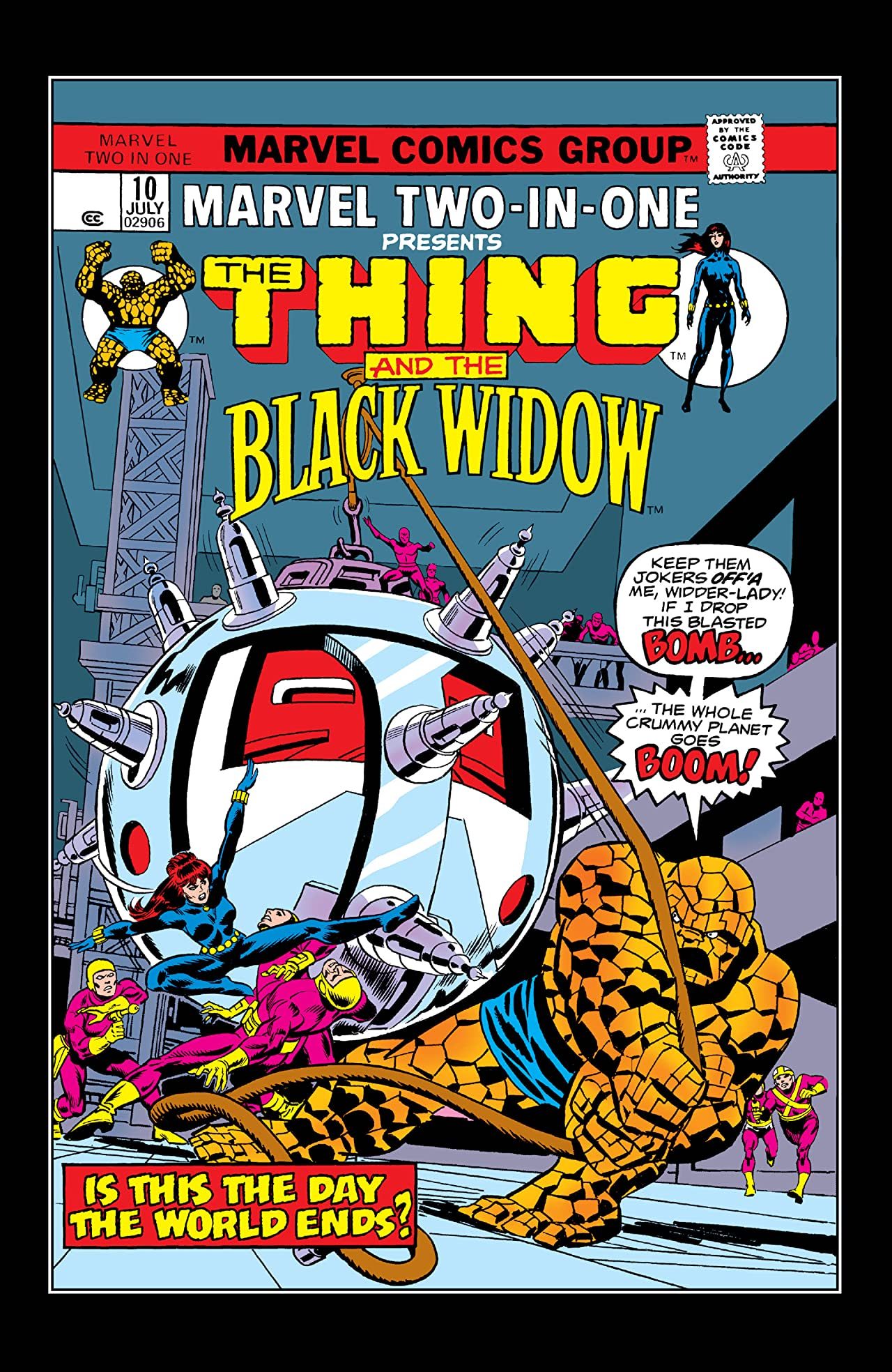 Marvel Two-In-One (1974-1983) #10