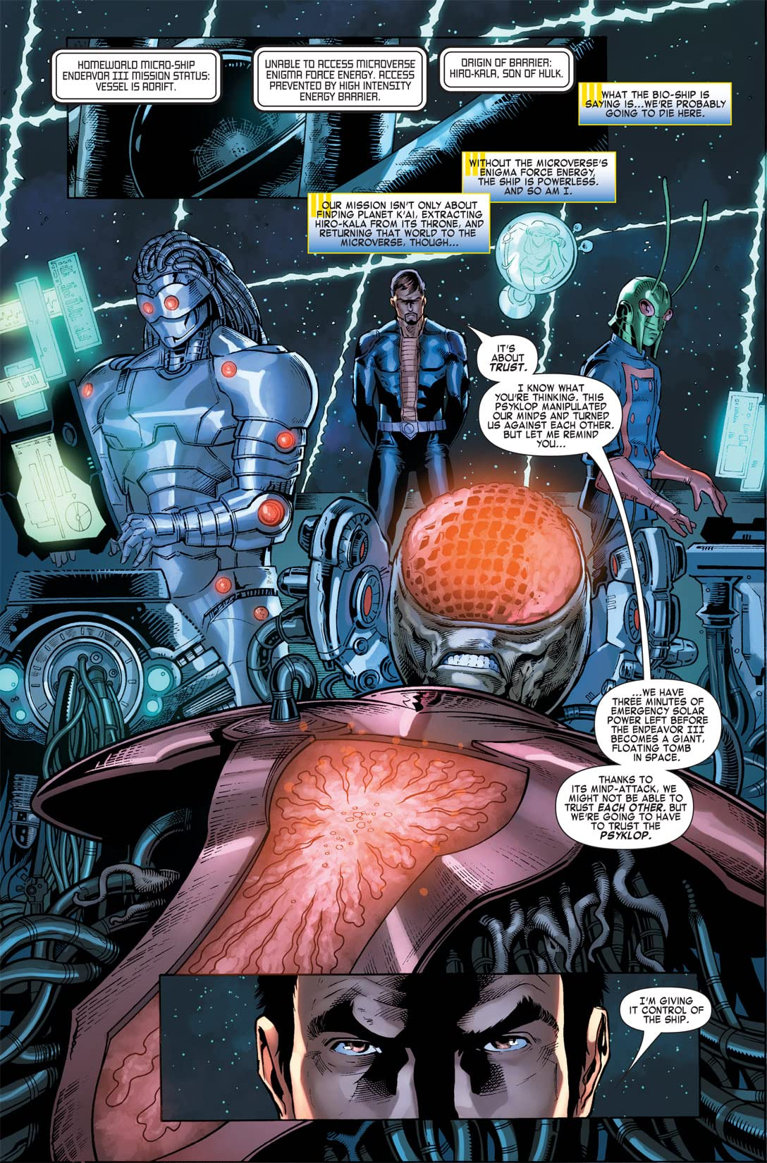 Microverse: The Enigma Force #2 (of 3)