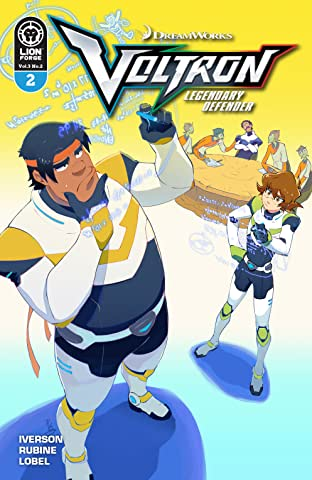 Voltron Legendary Defender Vol. 3 #2