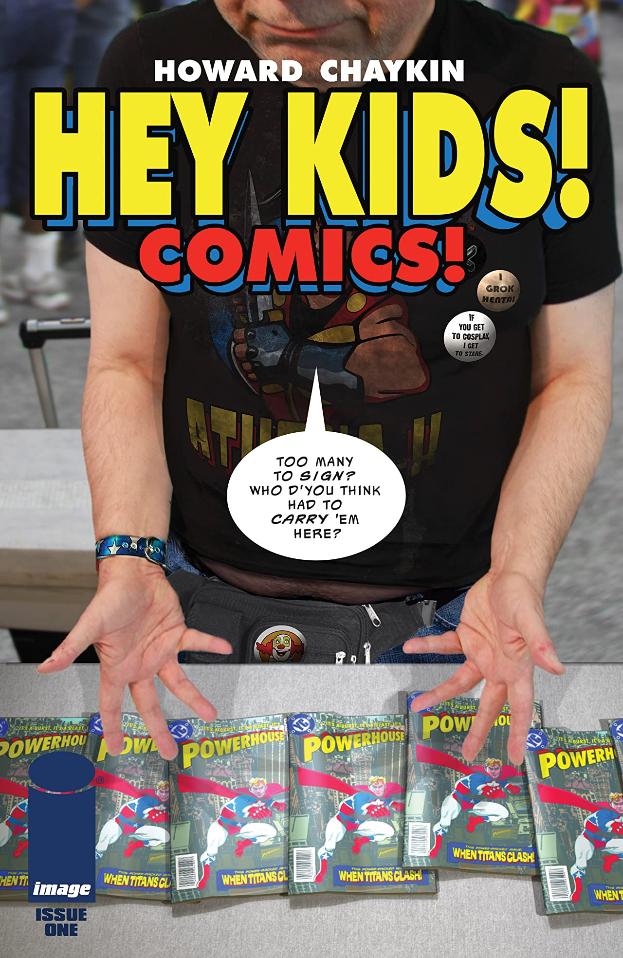 Hey Kids! Comics! #1