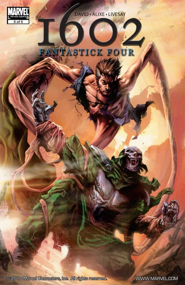 Marvel 1602: Fantastick Four #5 (of 5)