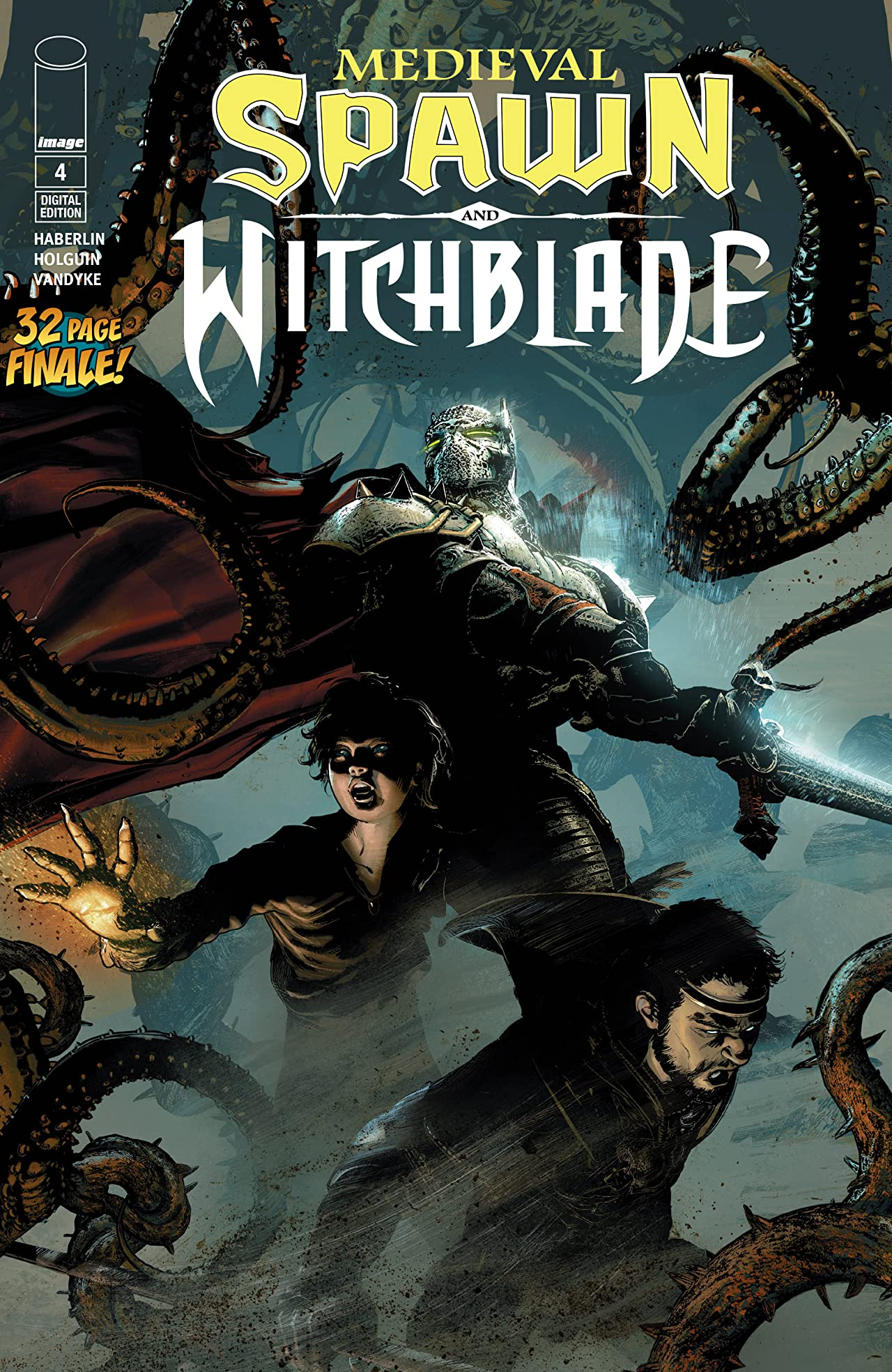 Medieval Spawn and Witchblade No.4