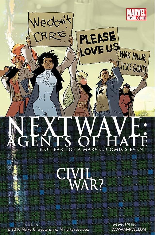 Nextwave: Agents of HATE #11