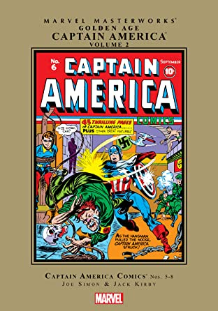 Captain America Golden Age Masterworks Vol. 2