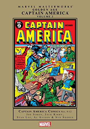 Captain America Golden Age Masterworks Tome 3