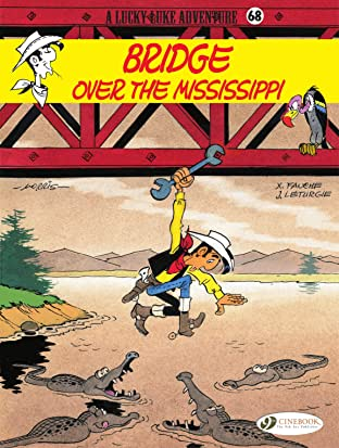 Lucky Luke Vol. 68: Bridge Over the Mississippi
