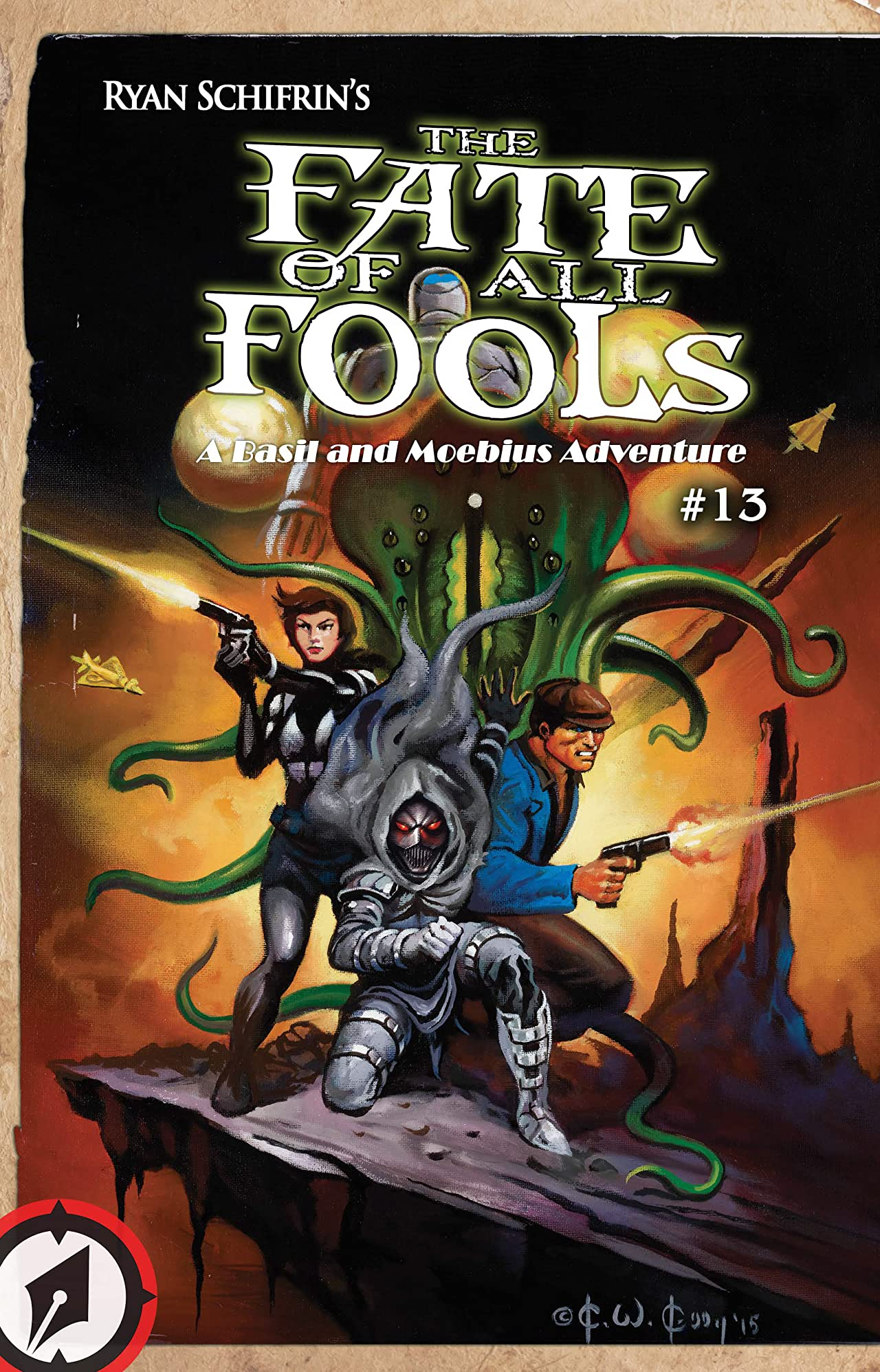 The Adventures of Basil and Moebius Vol. 4: The Fate of All Fools