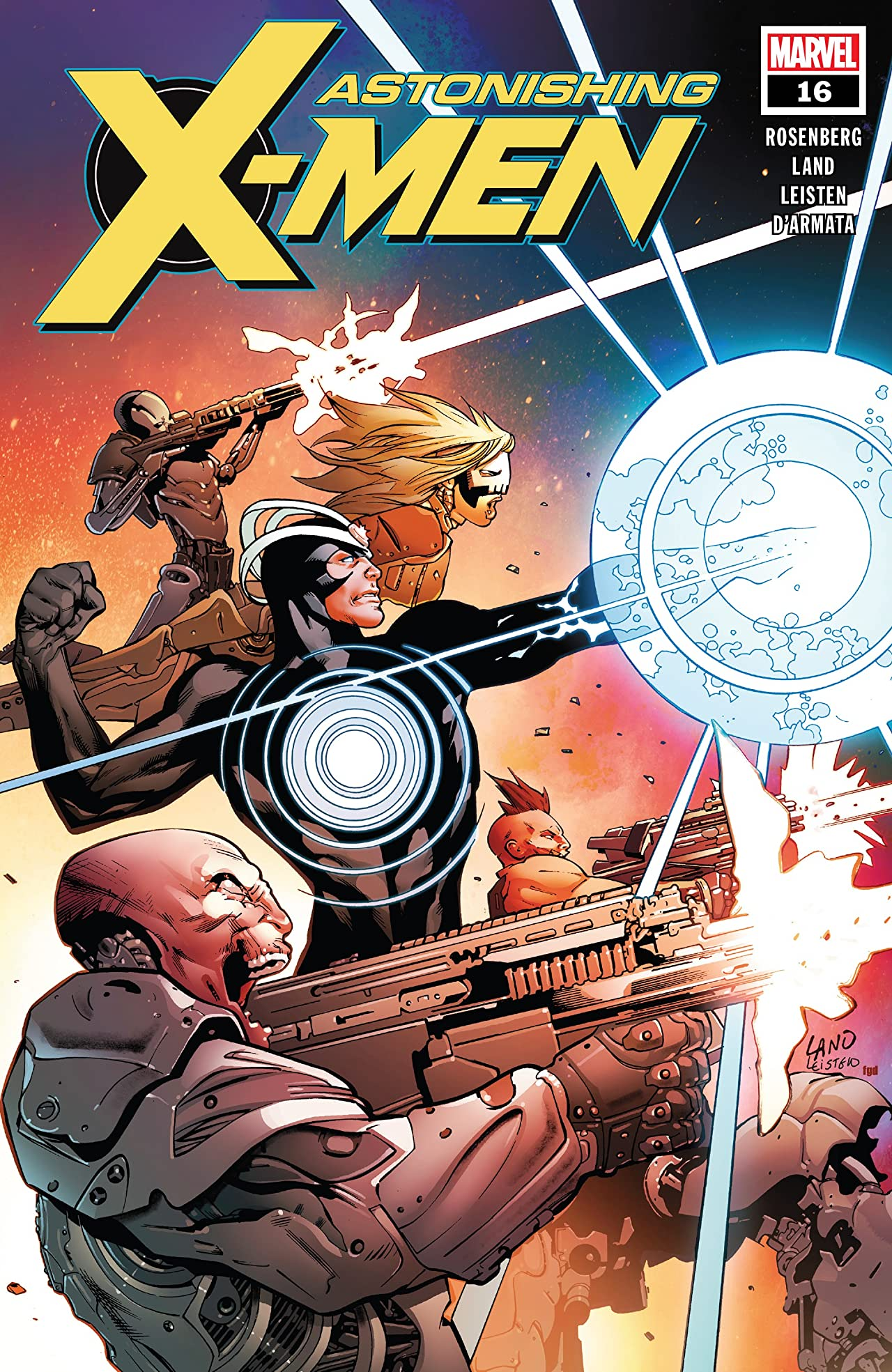 Astonishing X-Men (2017-) No.16