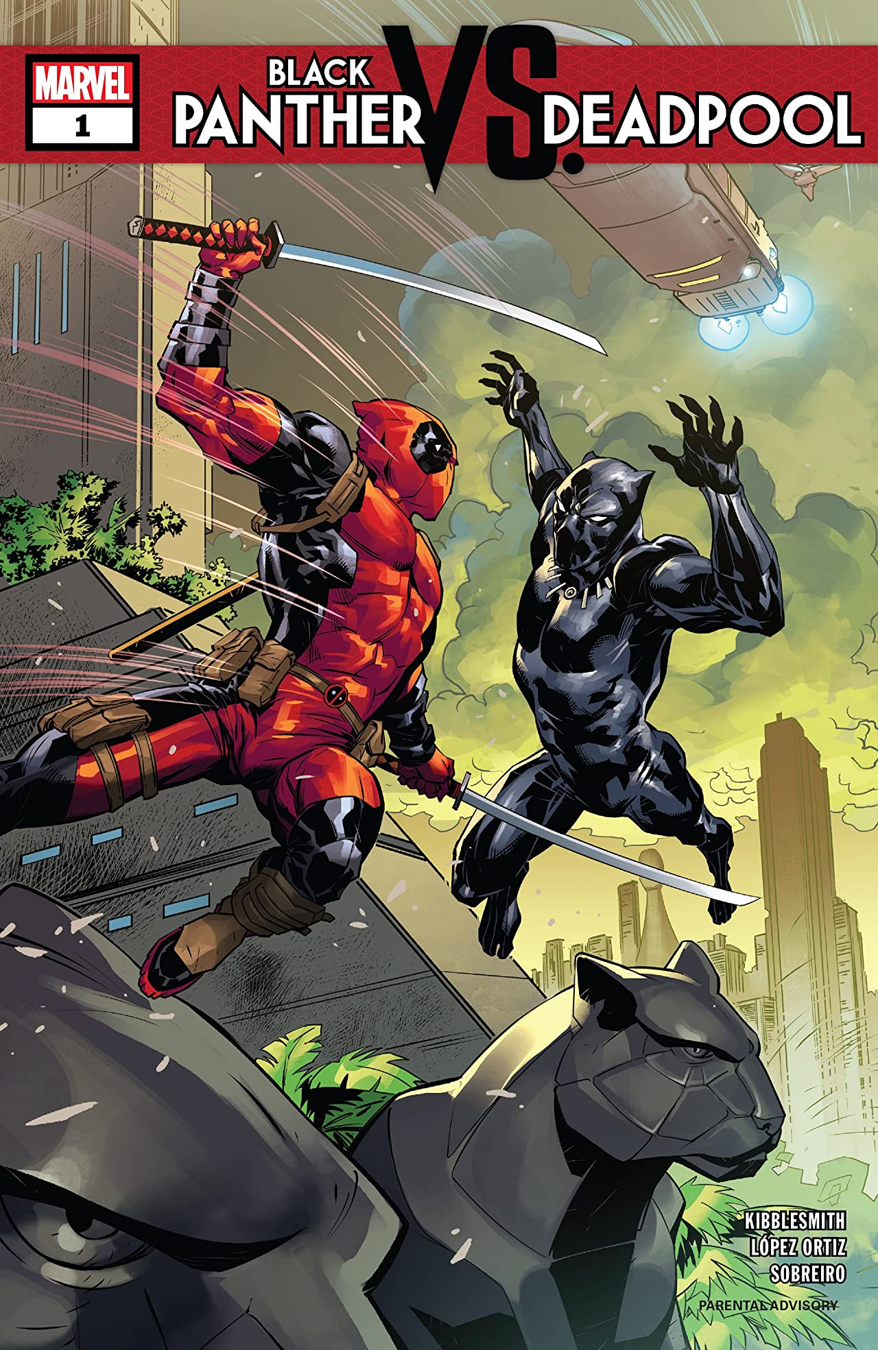 Black Panther vs. Deadpool (2018-2019) #1 (of 5)
