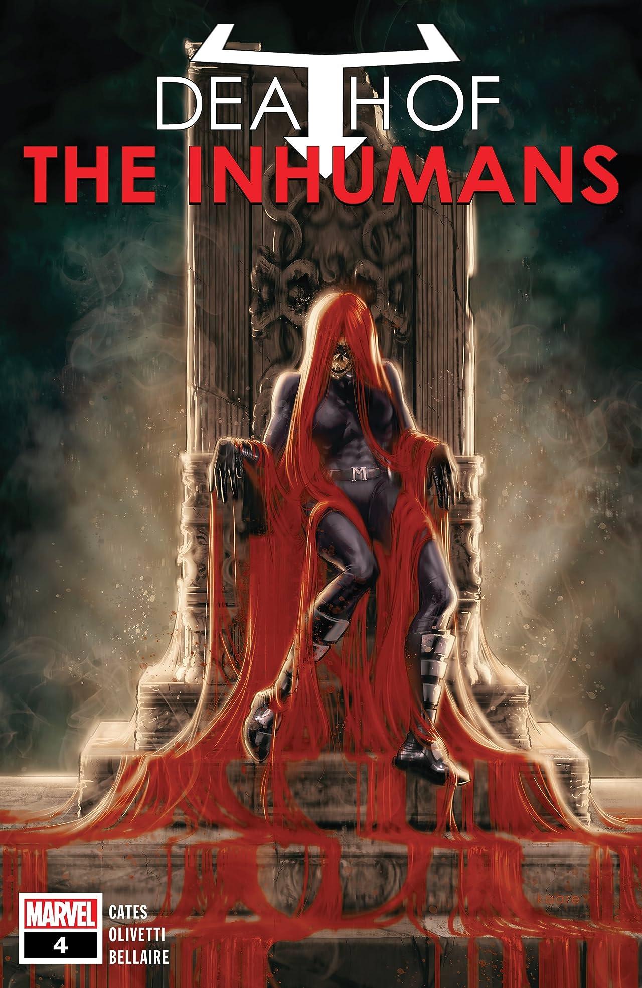 Death Of The Inhumans (2018) No.4 (sur 5)