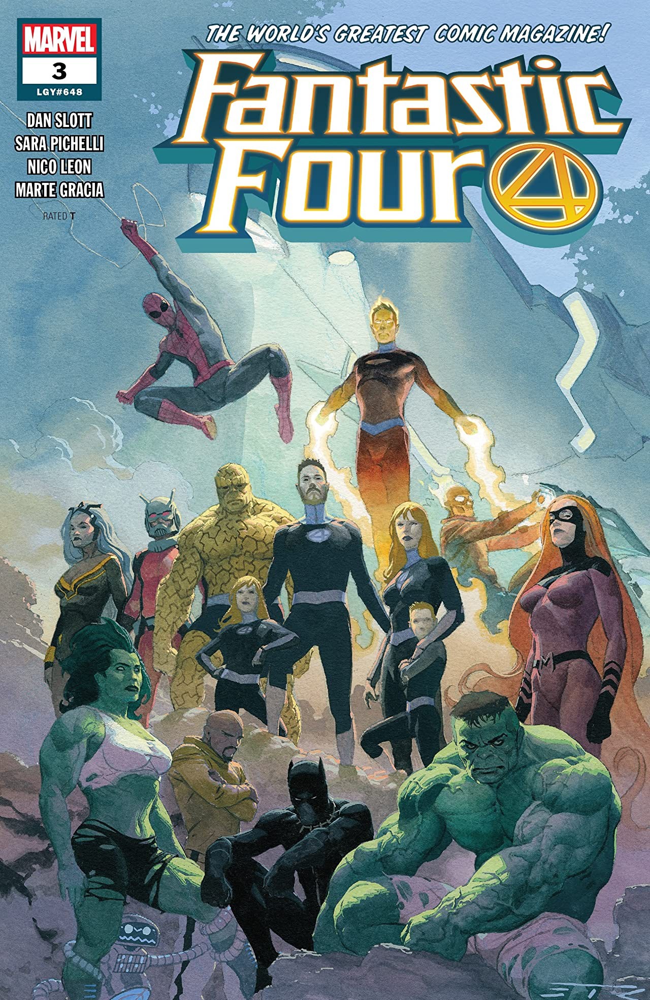Fantastic Four (2018-) No.3