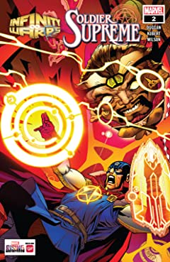 Infinity Wars: Soldier Supreme (2018) #2 (of 2)