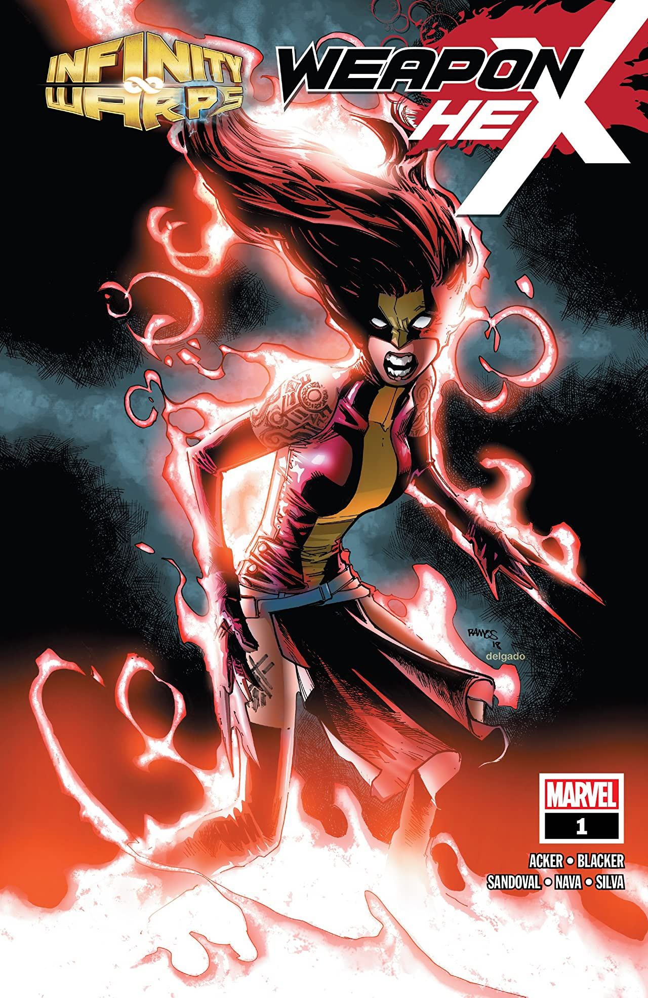 Infinity Wars: Weapon Hex (2018) No.1 (sur 2)