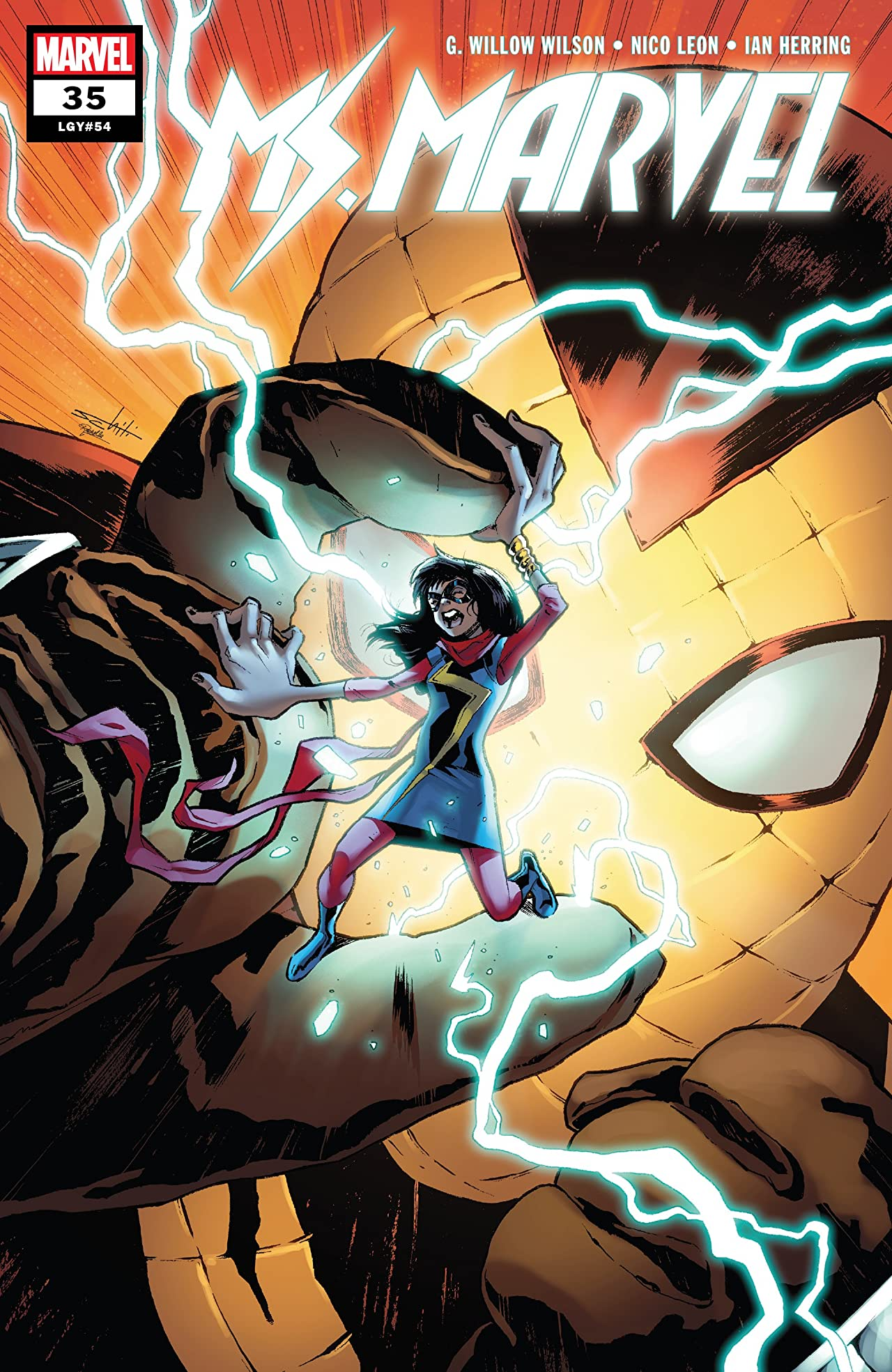 Ms. Marvel (2015-2019) No.35