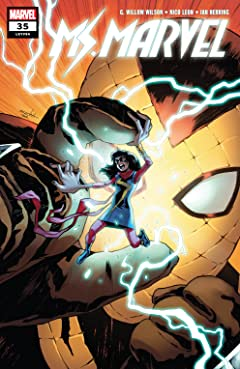 Ms. Marvel (2015-2019) #35