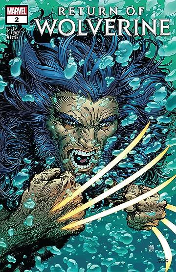 Return Of Wolverine (2018-) #2 (of 5)
