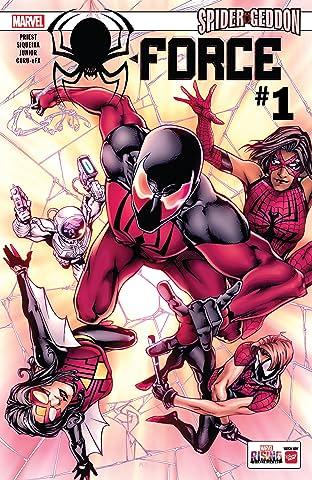 Spider-Force (2018) No.1 (sur 3)