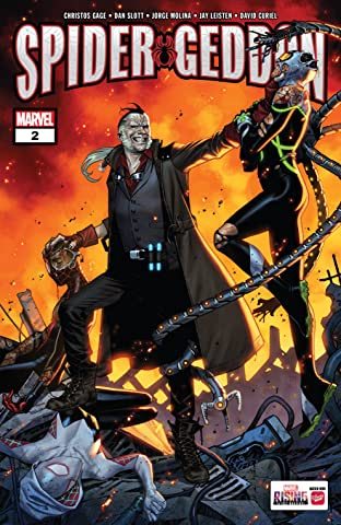 Spider-Geddon (2018-) #2 (of 5)