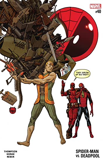Spider-Man/Deadpool (2016-2019) No.40