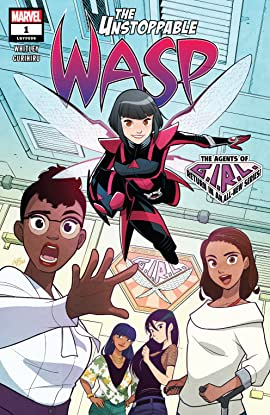 The Unstoppable Wasp (2018-2019) No.1