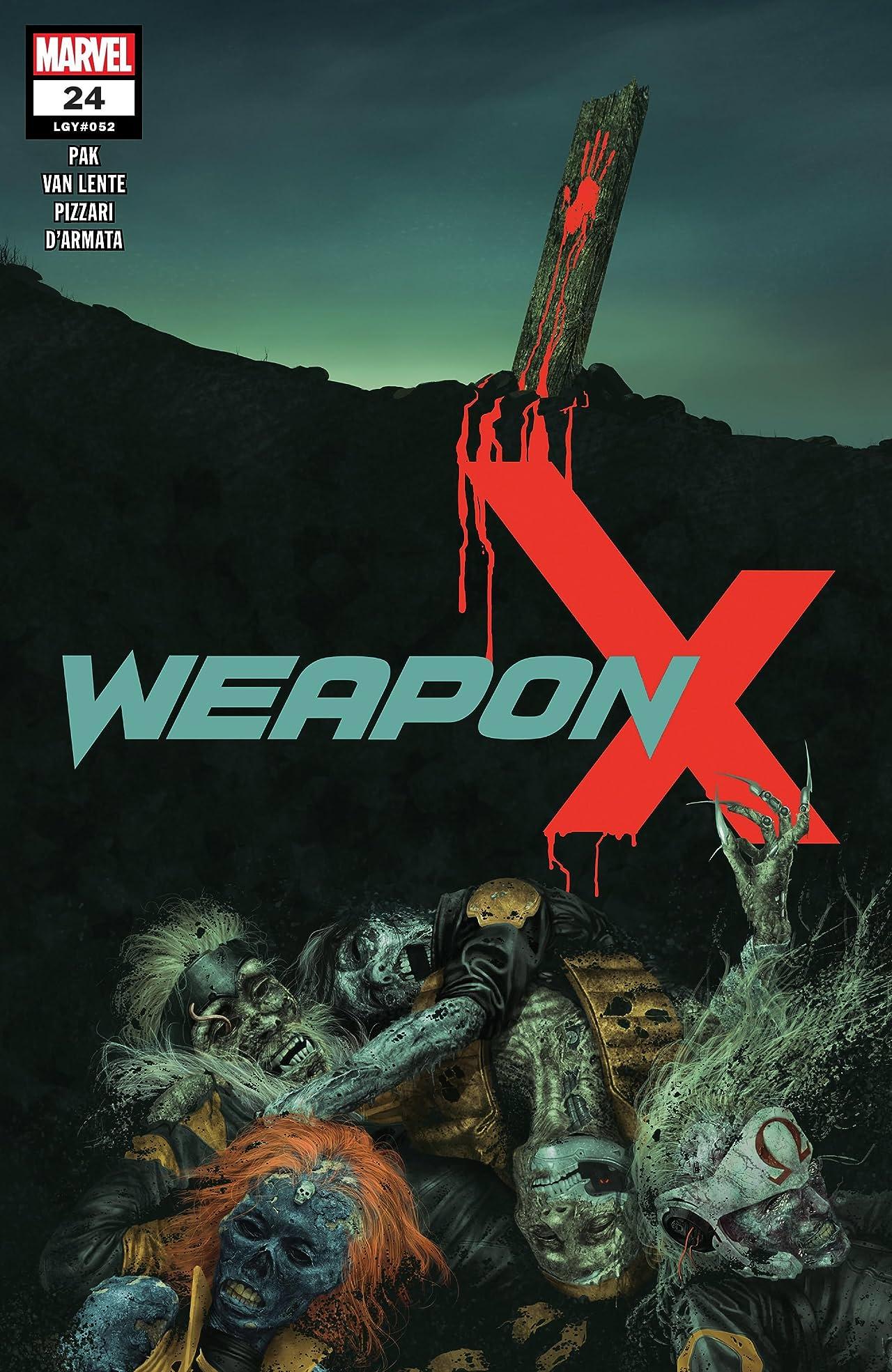 Weapon X (2017-) No.24