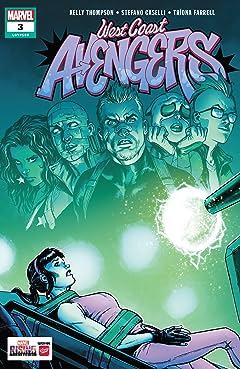 West Coast Avengers (2018-2019) #3