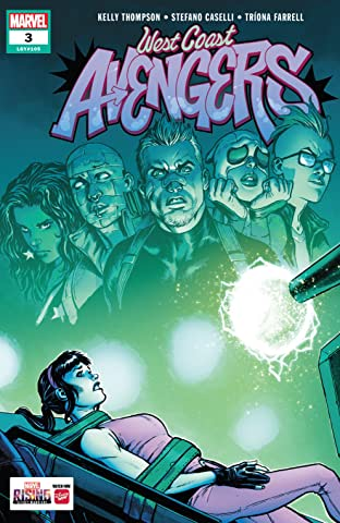West Coast Avengers (2018-) No.3