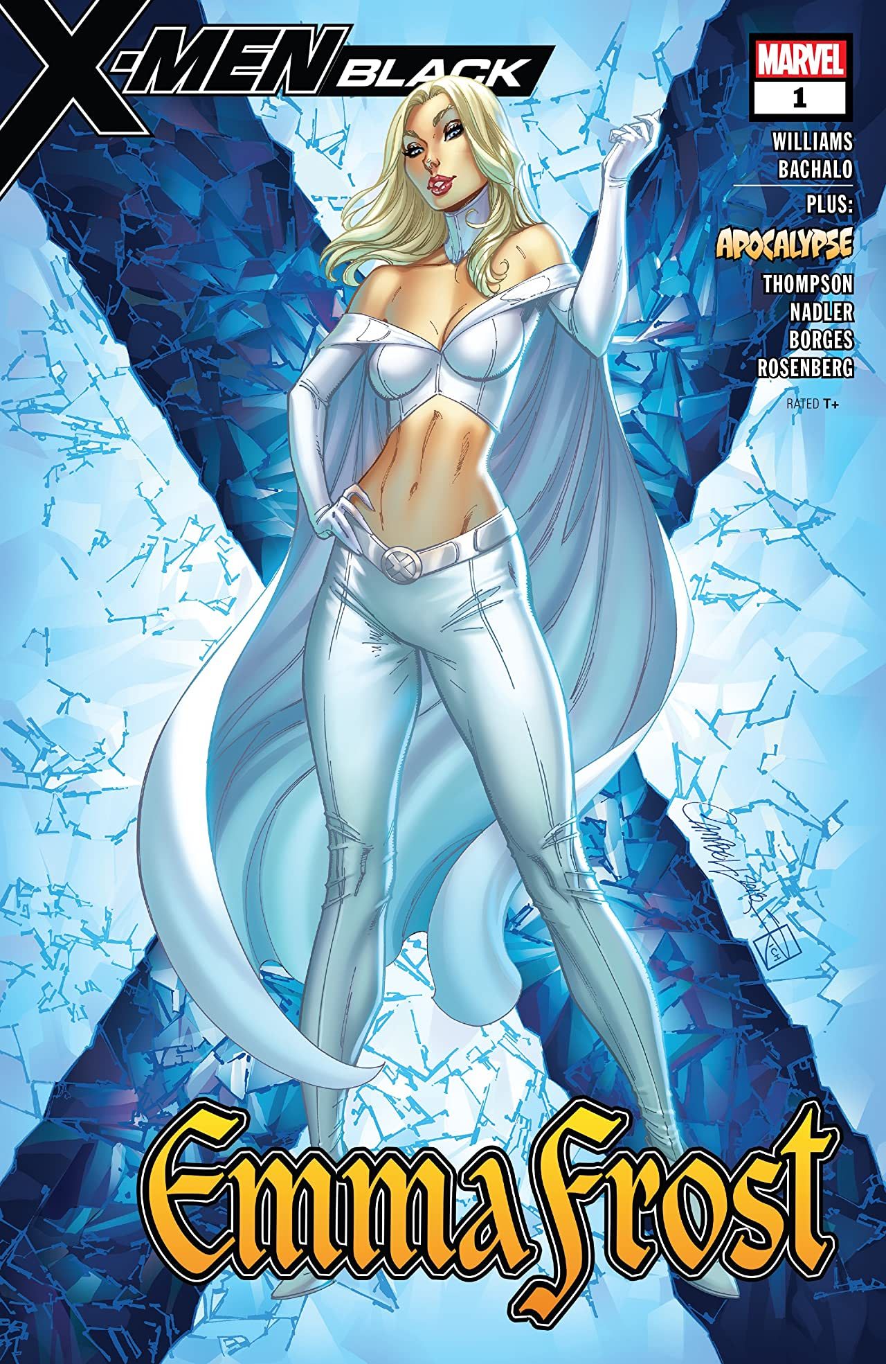 X-Men: Black - Emma Frost (2018) #1