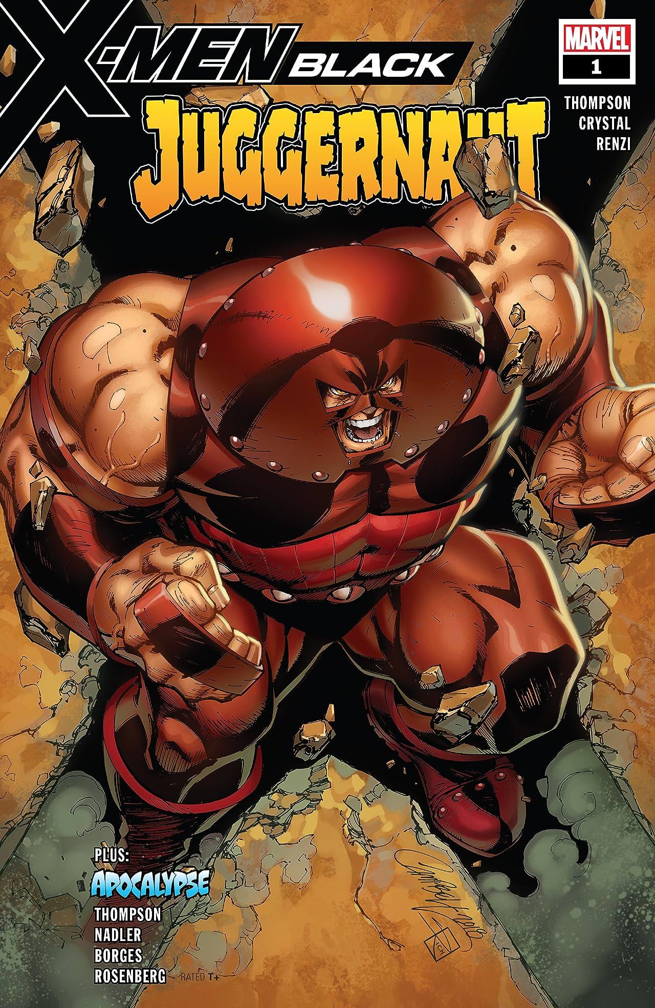 X-Men: Black - Juggernaut (2018) No.1