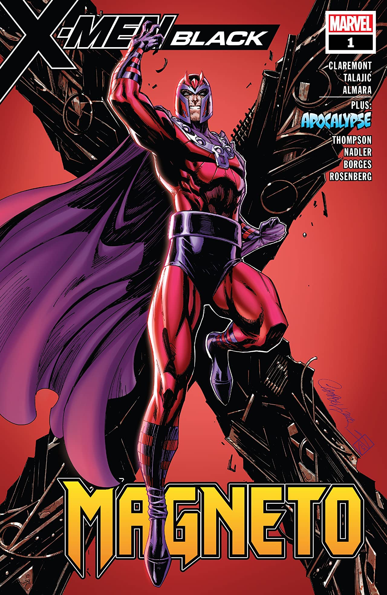 X-Men : Black - Magneto