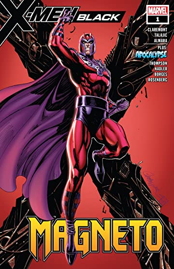 X-Men: Black - Magneto (2018) #1