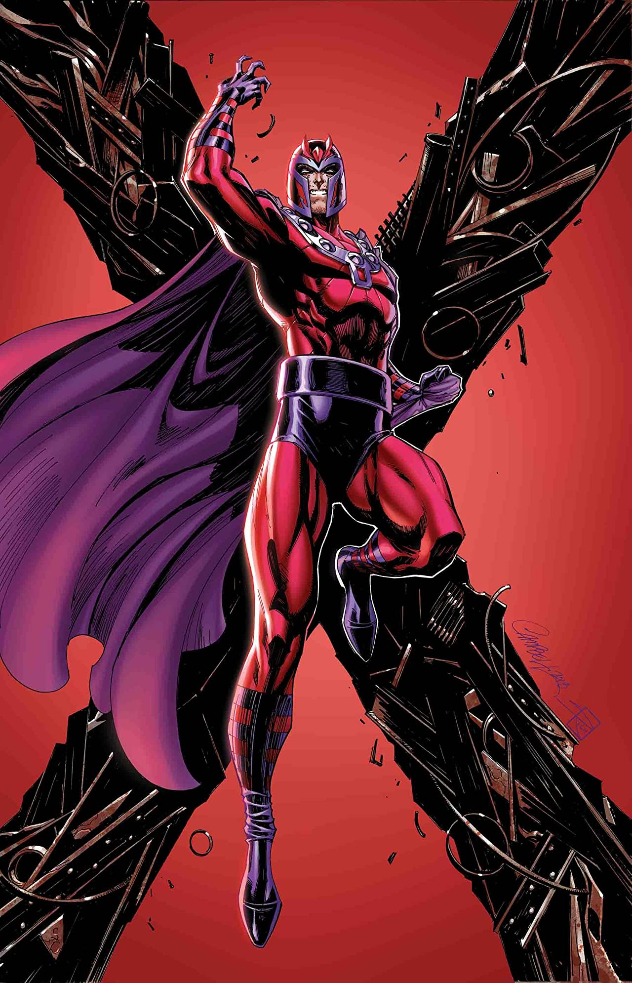 X-Men: Black - Magneto (2018) #1