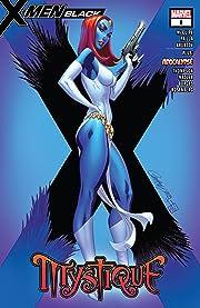 X-Men: Black - Mystique (2018) No.1