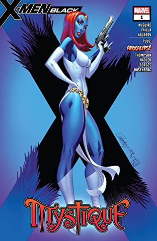 X-Men: Black - Mystique (2018) No.1