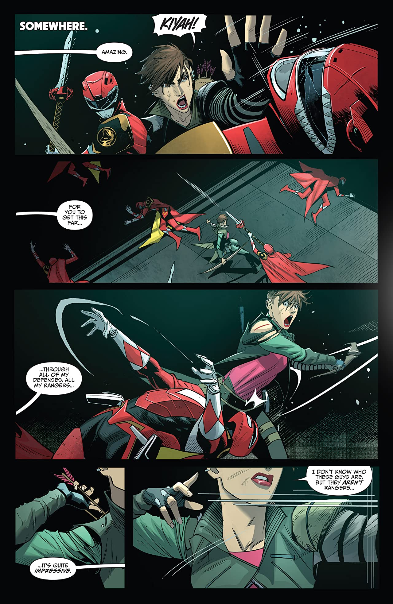 Saban's Go Go Power Rangers #12