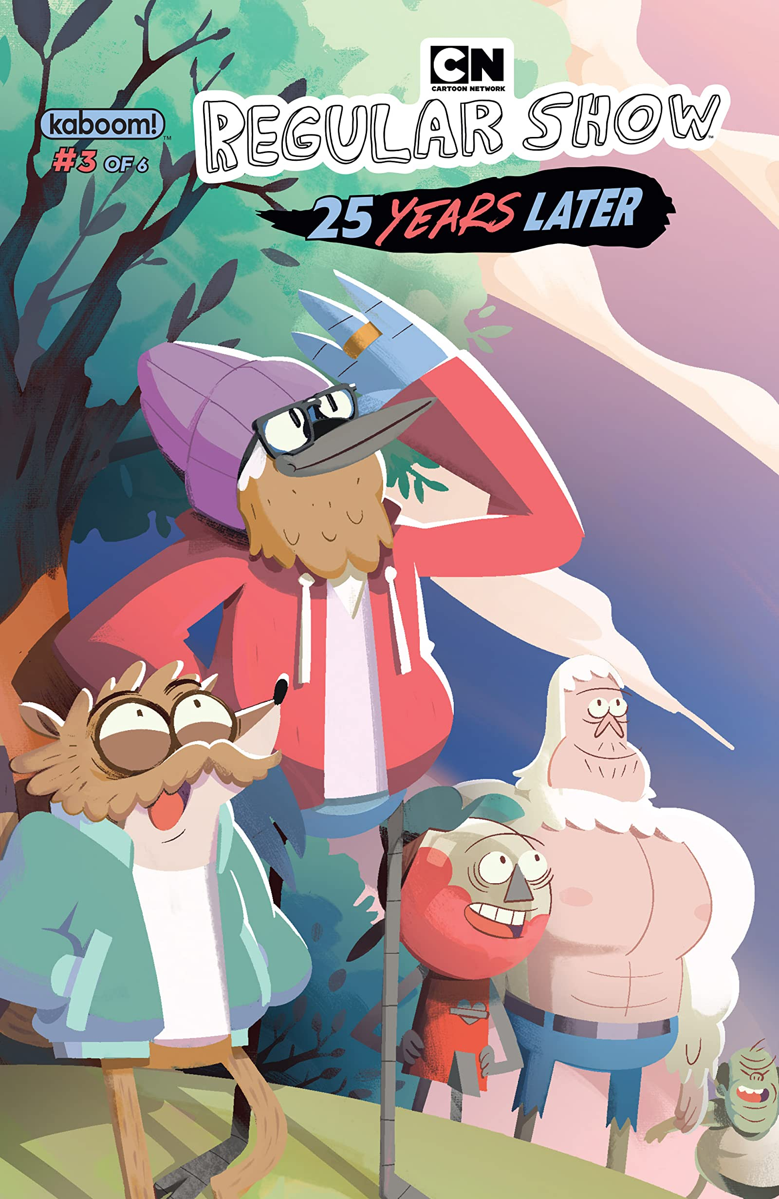 Regular Show: 25 Years Later #3 - Comics by comiXology