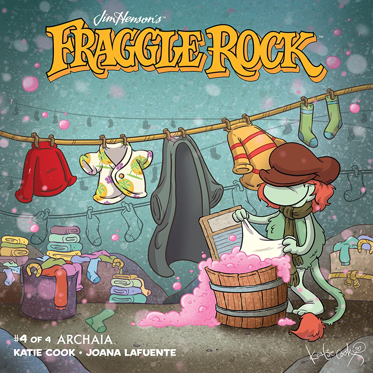Jim Henson's Fraggle Rock (2018) #4 (of 4)
