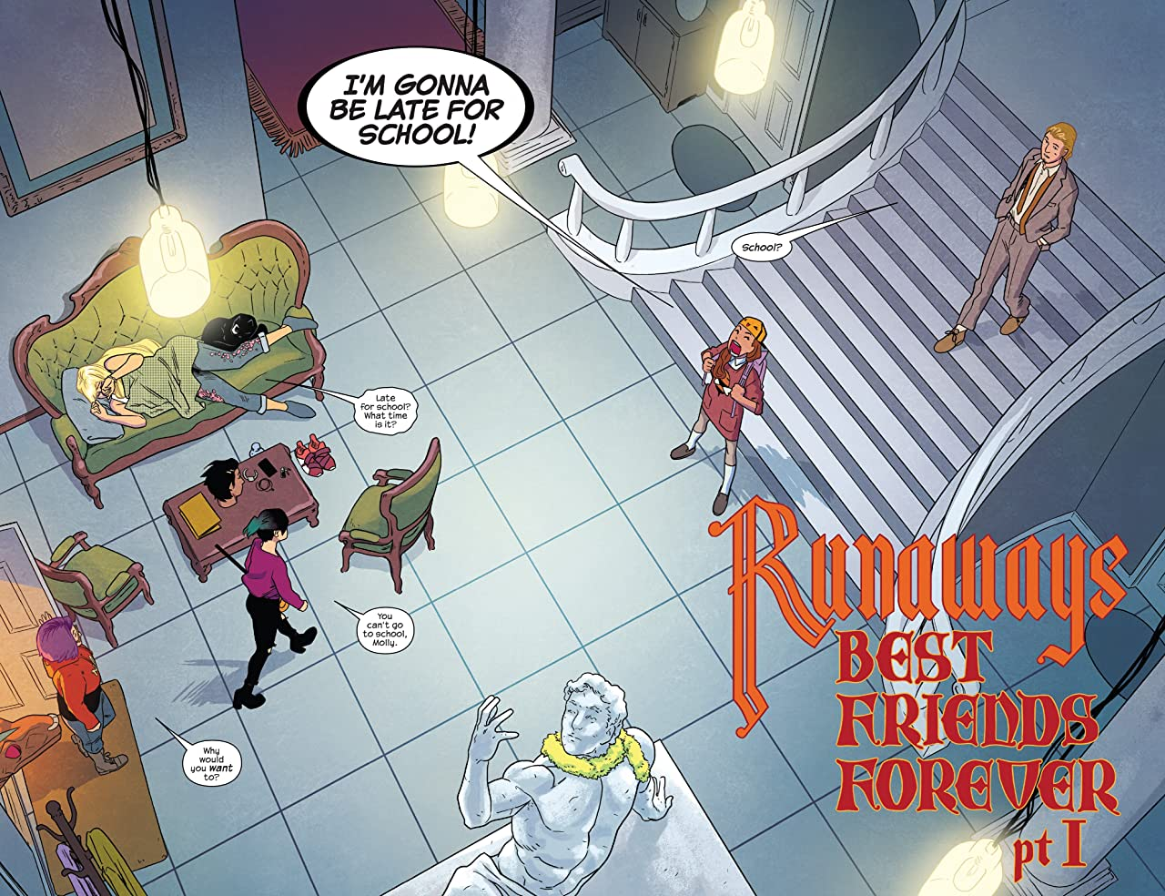 Runaways by Rainbow Rowell & Kris Anka Vol. 2: Best Friends Forever